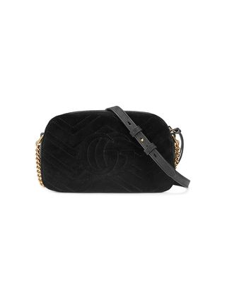 GUCCI ショルダーバッグ・ポシェット 【VIP SALE!!】GUCCI☆GG Marmont ロゴ付き クロスボディバッグ(15)