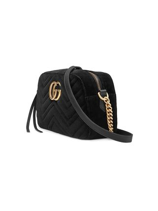 GUCCI ショルダーバッグ・ポシェット 【VIP SALE!!】GUCCI☆GG Marmont ロゴ付き クロスボディバッグ(16)
