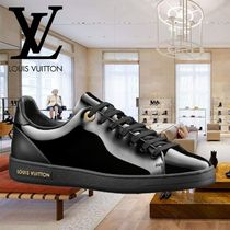 2018AW 新作 Louis Vuitton(ルイヴィトン) SNEAKER FRONTROW 黒