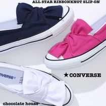 【CONVERSE】ALL STAR RIBBONKNOT SLIP-ON リボンノット