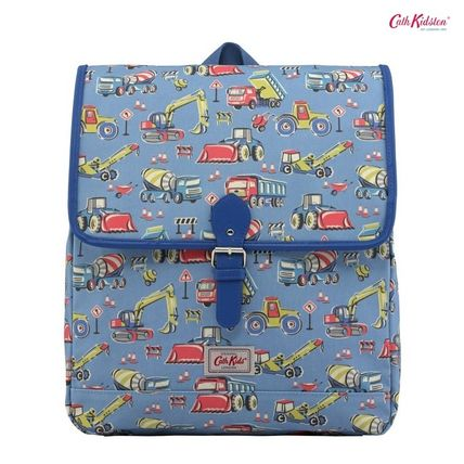 Cath Kidston 子供用リュック・バックパック Cath Kidston★KIDS BOXY BACKPACK W/CHEST STRAP