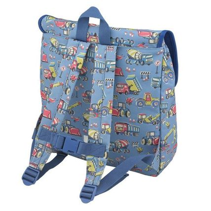 Cath Kidston 子供用リュック・バックパック Cath Kidston★KIDS BOXY BACKPACK W/CHEST STRAP(2)