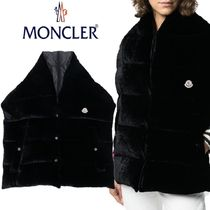 【18AW】MONCLER★oversized padded scarf gilet