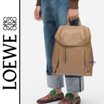 2018AW【LOEWE】スタイリッシュ レザー バックパック 4色展開