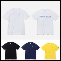 FRUIT OF THE LOOM(フルーツオブザルーム) Tシャツ・カットソー ☆FRUIT OF THE LOOM☆ 210g SMALL BOX LOGO T-SHIRTS 4色