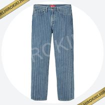 【18SS】Supreme Levi's Pinstripe 550 Jeans リーバイス 青