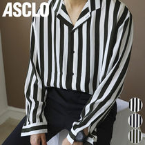 ★ASCLO★ ALOV STRIPED RETRO SHIRTS