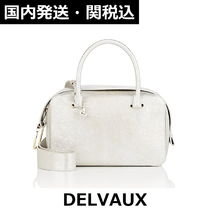 DELVAUX(デルボー) ハンドバッグ ▽国内発送・関税込▽DELVAUX▽COOL BOX Silver