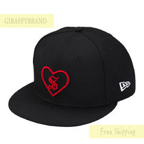 7 1/4★ SUPREME Heart New Era Box Logo ブラック