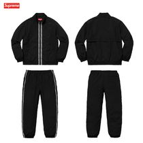 18SS Supreme Classic Logo Taping Track Jacket & Track Pant
