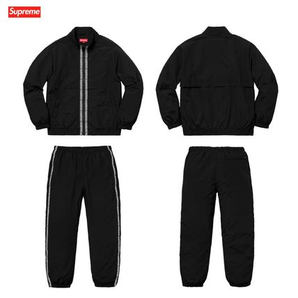 Supreme セットアップ 18SS Supreme Classic Logo Taping Track Jacket & Track Pant