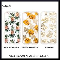 *Sonix*クリアデザイン*Sonix CLEAR COAT for iPhone X*3色展開