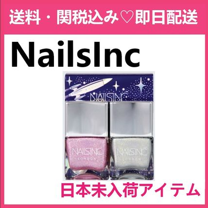 NAILSINC ネイルズインクHoller-Graphic Holographic Polish Duo