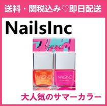 ★大人気★NAILS INC ネイルズインク Flock You Nail Polish Duo