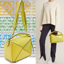 LOEWE★18-19AW PUZZLE パズルバッグ 5Way yellow multitone