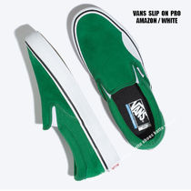 VANS★SLIP ON PRO★AMAZON/WHITE
