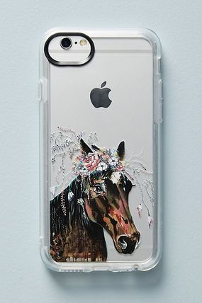 Anthropologie スマホケース・テックアクセサリー 【Anthropologie】新作!Casetify Horse in Bloomケース6〜X(2)