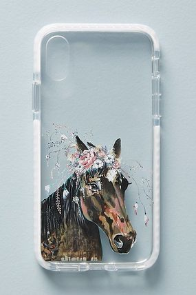 Anthropologie スマホケース・テックアクセサリー 【Anthropologie】新作!Casetify Horse in Bloomケース6〜X(4)