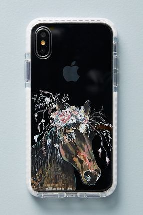 Anthropologie スマホケース・テックアクセサリー 【Anthropologie】新作!Casetify Horse in Bloomケース6〜X(5)