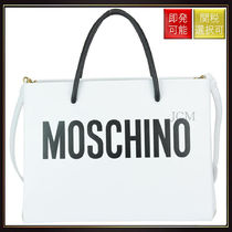 【モスキーノ】Logo Bag White
