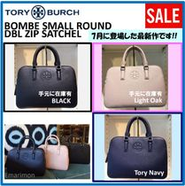 2018年7月新作★Tory Burch★ BOMBE SMALL DBL ZIP SATCHEL 2WAY