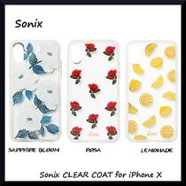 *Sonix*オシャレなケース*Sonix CLEAR COAT for iPhone X*3色