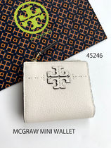 完売色 TORY BURCH★MCGRAW MINI WALLET 折り財布*45246