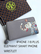 即発 TORY BURCH★ELEPHANT SMART PHONE*IPHONE 7/8 PLUS