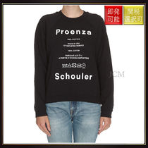 【プロエンザスクーラー】Shrunken Sweatshirt Black