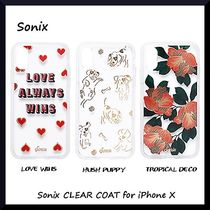 *Sonix*耐久性抜群なケース*Sonix CLEAR COAT for iPhone X☆3色