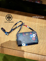 【追跡有】TORY BURCH★PARKER DOUBLE ZIP MINI BAG*花柄
