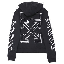 18FW Off-White オフホワイト パーカー MARKER ARROWS HOODIE