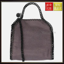 【ステラマッカートニー】Falabella Tiny Tote In Shaggy Deer