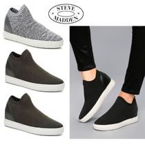 Sale★【Steve Madden】スニーカー★SLY MID-TOP WEDGE SNEAKER