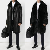PRM172 REVERSIBLE SHEEP FUR COAT