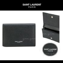 【新作】★SAINT LAURENT★LEATER CARD HOLDER ♪