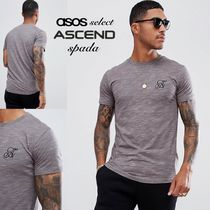SALE【Ascend】半袖 ロゴ Tシャツ グレー / 送料無料