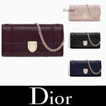 18FW新作【Dior】4色展開 Diorama Croisiere チェーンウォレット