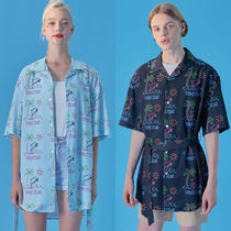 SHINeeオニュ着用★韓国Hot Summer Dolphin Hawaiian Shirts 3色