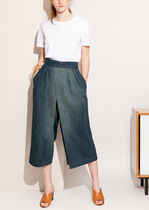 【入手困難☆】Indigo washed-out culotte pants