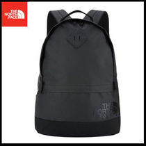 (ザノースフェイス) ORIGINAL BACKPACK BIG LOGO BLACK NM2DJ52J