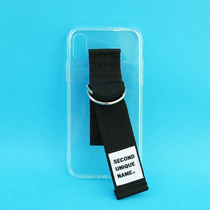 SECOND UNIQUE NAME iPhone・スマホケース 【NEW】「SECOND UNIQUE NAME」 CLEAR JELLY Belt 正規品(4)