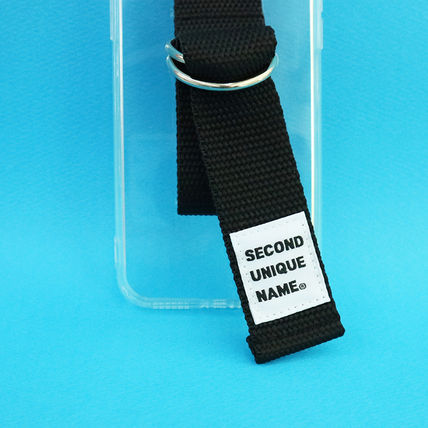 SECOND UNIQUE NAME iPhone・スマホケース 【NEW】「SECOND UNIQUE NAME」 CLEAR JELLY Belt 正規品(5)