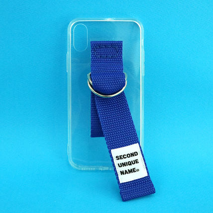 SECOND UNIQUE NAME iPhone・スマホケース 【NEW】「SECOND UNIQUE NAME」 CLEAR JELLY Belt 正規品(6)
