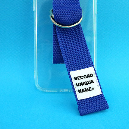 SECOND UNIQUE NAME iPhone・スマホケース 【NEW】「SECOND UNIQUE NAME」 CLEAR JELLY Belt 正規品(7)