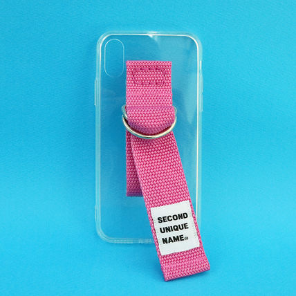 SECOND UNIQUE NAME iPhone・スマホケース 【NEW】「SECOND UNIQUE NAME」 CLEAR JELLY Belt 正規品(8)