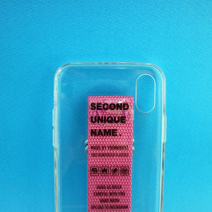 SECOND UNIQUE NAME iPhone・スマホケース 【NEW】「SECOND UNIQUE NAME」 CLEAR JELLY Belt 正規品(9)