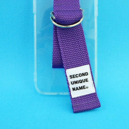 SECOND UNIQUE NAME iPhone・スマホケース 【NEW】「SECOND UNIQUE NAME」 CLEAR JELLY Belt 正規品(11)