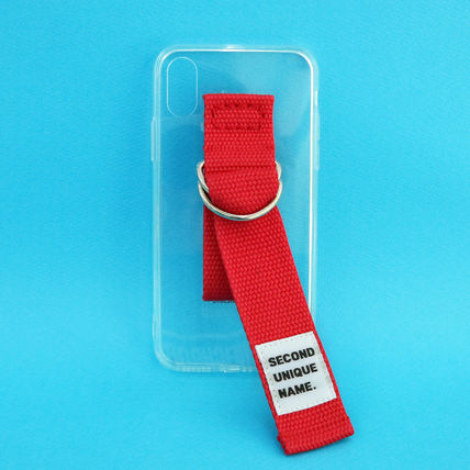 SECOND UNIQUE NAME iPhone・スマホケース 【NEW】「SECOND UNIQUE NAME」 CLEAR JELLY Belt 正規品(12)