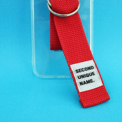 SECOND UNIQUE NAME iPhone・スマホケース 【NEW】「SECOND UNIQUE NAME」 CLEAR JELLY Belt 正規品(13)